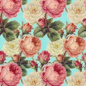 Vintage Shabby Roses