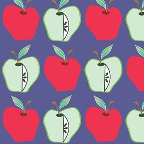 Apples inside and out
