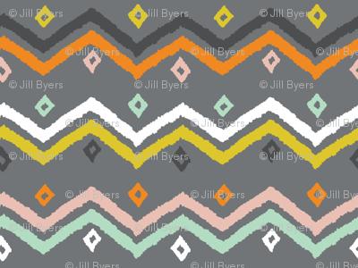 Blanket Stripe grey