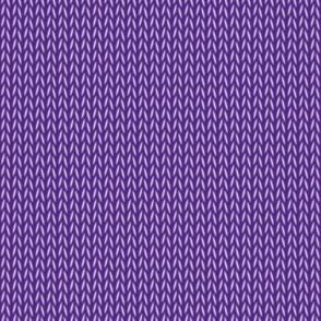 Stockinette Stitch (Purple)