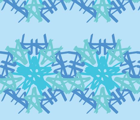 Ring a rosie azure fabric by inniv8z_oz on Spoonflower - custom fabric