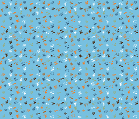 ribbons fabric by shiny on Spoonflower - custom fabric