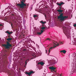 hipsterllama pink