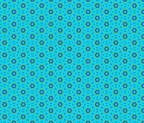 Blue & Green should never be seen fabric by inniv8z_oz on Spoonflower - custom fabric