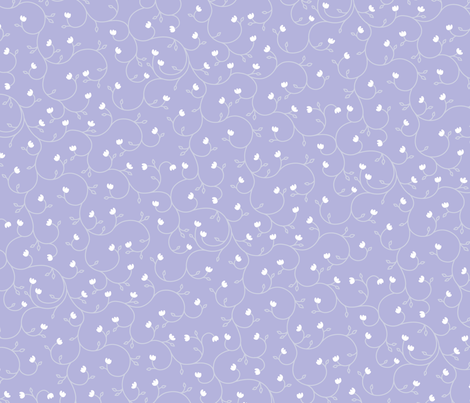 "Baby Tears 24"" - Periwinkle fabric by penina on Spoonflower - custom fabric"