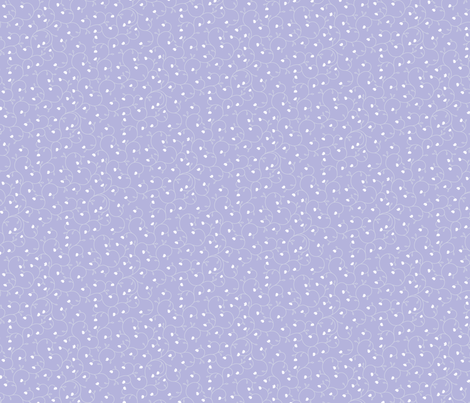 "Baby Tears 12"" - Periwinkle fabric by penina on Spoonflower - custom fabric"