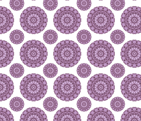 Venus-Bubble gum with white fabric by pseudopompous on Spoonflower - custom fabric