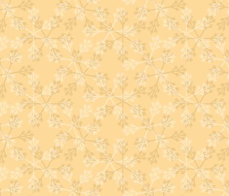 snowflakes sunlight fabric by glimmericks on Spoonflower - custom fabric