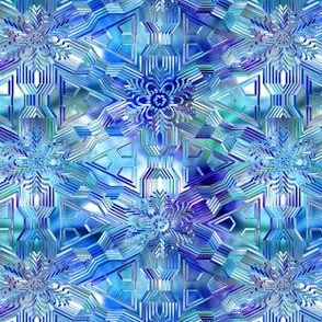 Glisten in blue