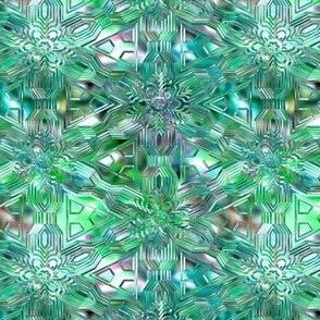 Glisten in turquoise