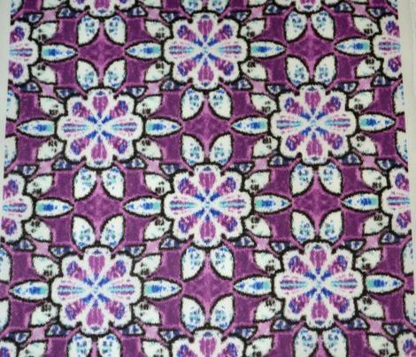 Purple Velvety Floral