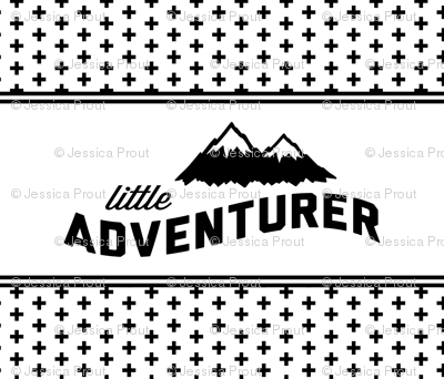 Little Adventurer // cross