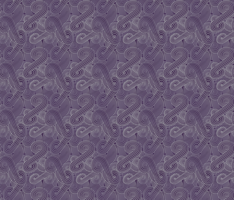 Tali'Zorah Swirls fabric by electrogiraffe on Spoonflower - custom fabric