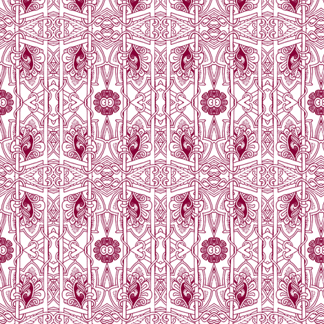 Deco Deluxe fabric by edsel2084 on Spoonflower - custom fabric