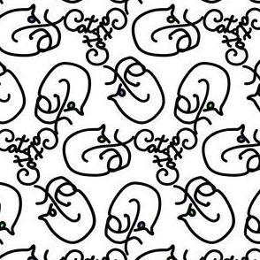 Calligraphic Cats