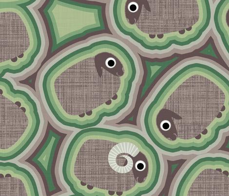 Combat Sheep Large fabric by spellstone on Spoonflower - custom fabric