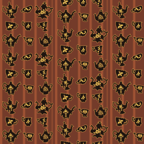 Tea Time Small fabric by jadegordon on Spoonflower - custom fabric
