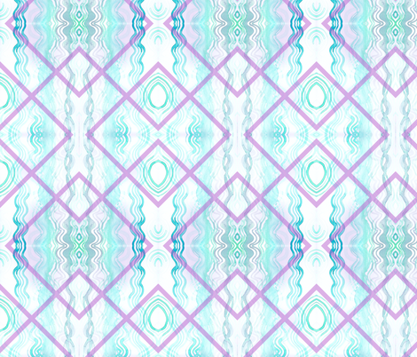 wavegreenlavverityrp fabric by veritymaddox on Spoonflower - custom fabric