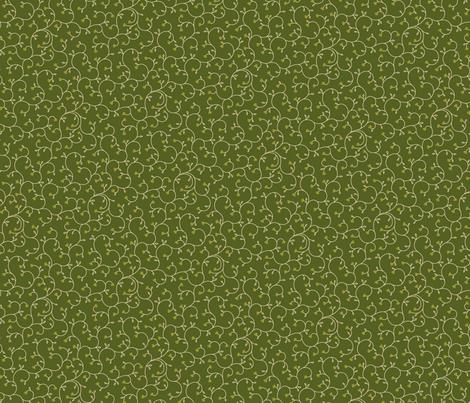 "Baby Tears 12"" - Moss fabric by penina on Spoonflower - custom fabric"