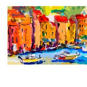 Portofino Italy Watercolor