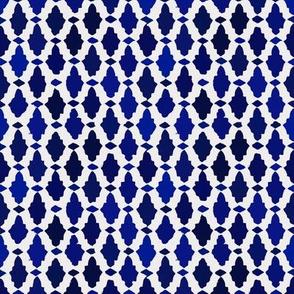 moroccan mosaic - lapis