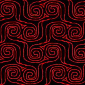 Fuzzy Spirals
