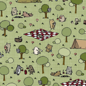 We love camping! (details on main page)
