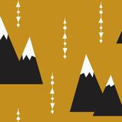 golden mountain - elvelyckan