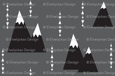 grey mountain - elvelyckan