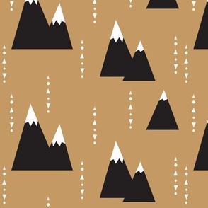brown mountain - elvelyckan