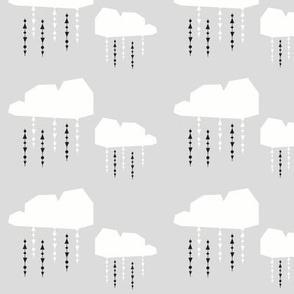 light grey cloud - elvelyckan
