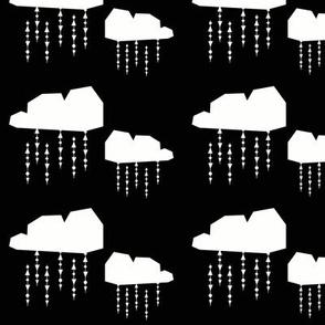 white cloud - elvelyckan