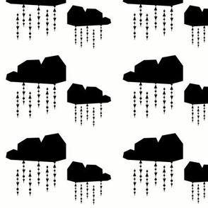 black clouds - elvelyckan