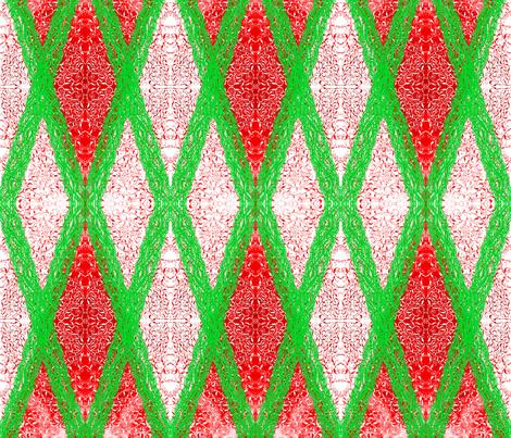 Ottoman Fritillaria Garland fabric by joancaronil on Spoonflower - custom fabric