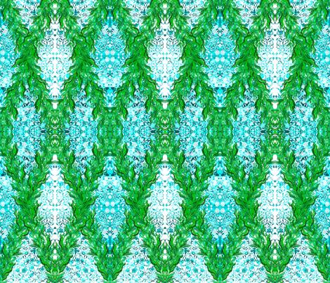 Ottoman Marigold Garland fabric by joancaronil on Spoonflower - custom fabric