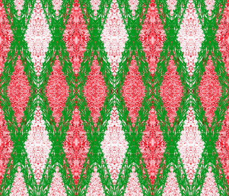 Ottoman Hyacinth Garland fabric by joancaronil on Spoonflower - custom fabric