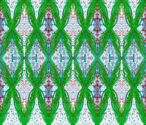 Ottoman Iris Garland fabric by joancaronil on Spoonflower - custom fabric
