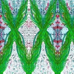 Ottoman Iris Garland
