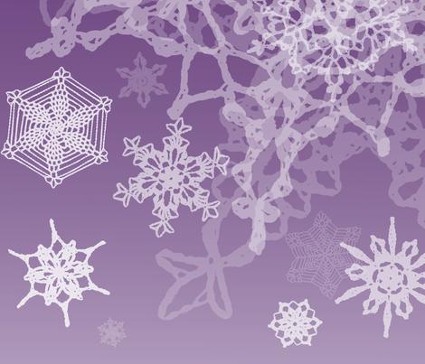 Snowcatcher Gradient Lavender 03 fabric by snowcatcher on Spoonflower - custom fabric