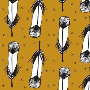 golden feather - elvelyckan