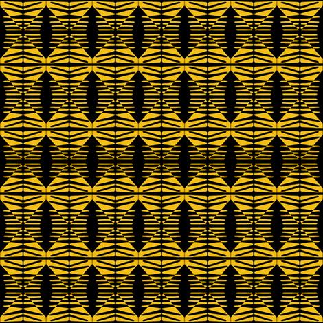 Arrow Pillars Gold fabric by eve_catt_art on Spoonflower - custom fabric