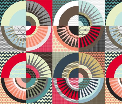 London Beauty fabric by scrummy on Spoonflower - custom fabric
