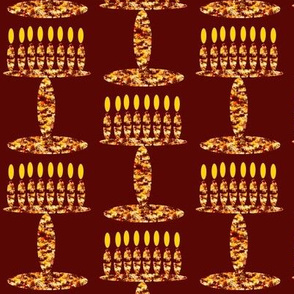Menorah on Rich Brown