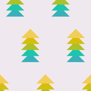 hip holiday christmas trees