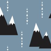 blue mountain - elvelyckan