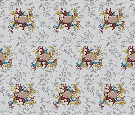 Grey Matter fabric by kristinbell on Spoonflower - custom fabric