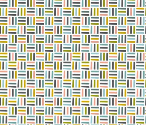 Nordic Block Quilt (Winter) fabric by studio_amelie on Spoonflower - custom fabric