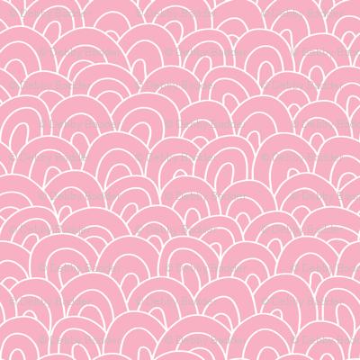 happy hills - pink
