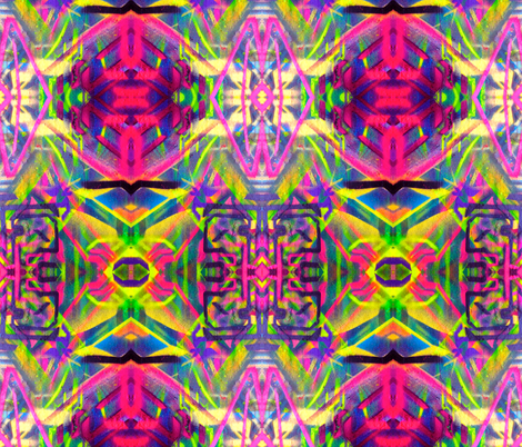 Tribal Apostles  fabric by hrhsf-designs on Spoonflower - custom fabric