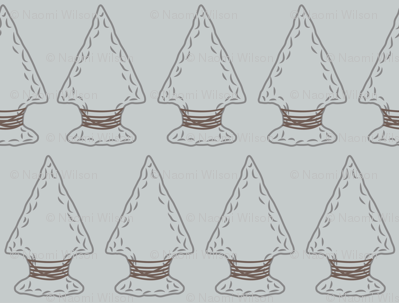 Quiver Full of Arrows - LIght Gray Arrowheads